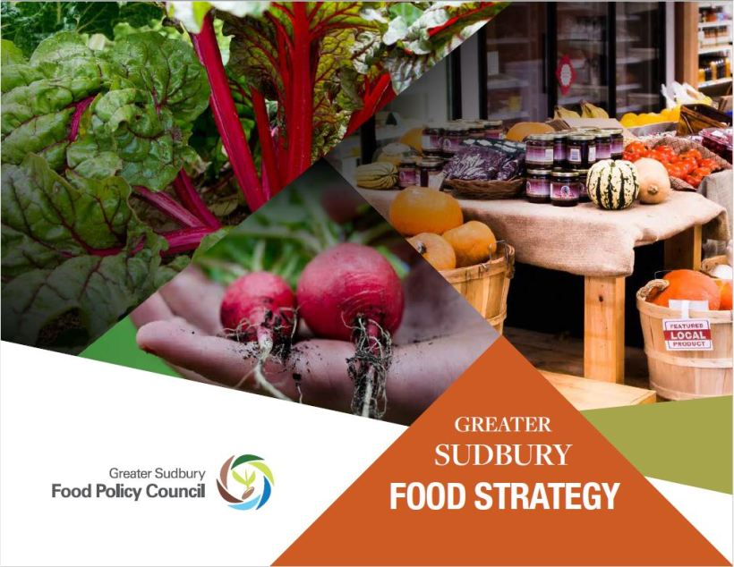 Greater Sudbury Food Strategy Cover