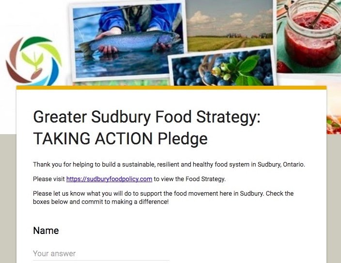 TAKING ACTION Pledge image